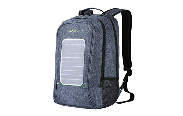 BAIBU Waterproof Solar Backpack