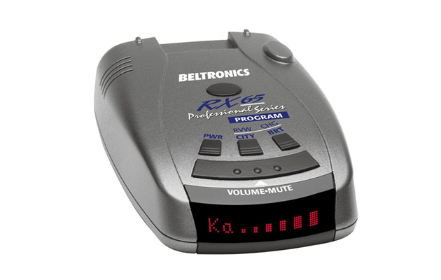 beltronics rx65 red professional series radar detector review