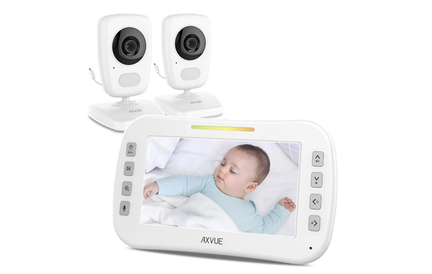 AXVUE E632 Video Baby Monitor with Two Cameras