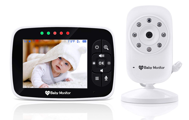 Babebay LCD Video Baby Monitor