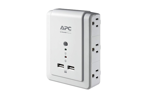 APC 6-Outlet Wall Surge