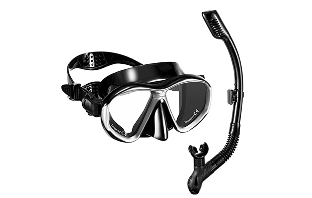 OMORC Snorkel Set, Anti-Fog Snorkel Mask