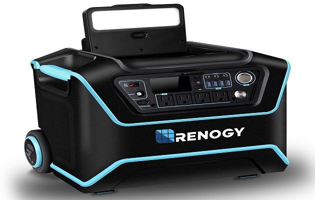 Renogy Lycan Powerbox Portable Outdoor 1075WH Solar Power Generator