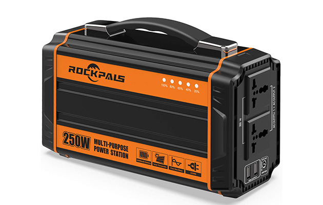 Rockpals 250-Watt Portable Generator