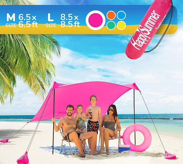 Sunshade Beach Tent