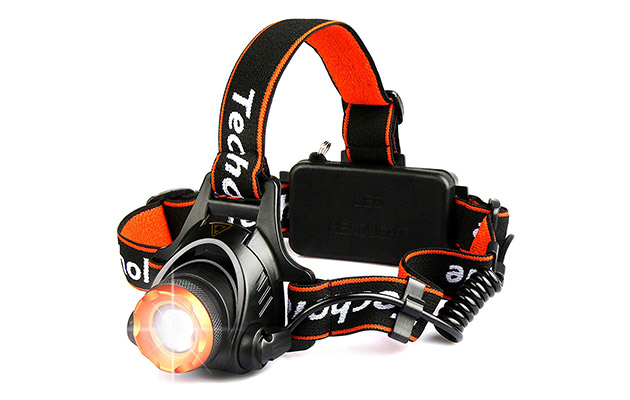 Techole Headlamp Flashlight Bright Headlight