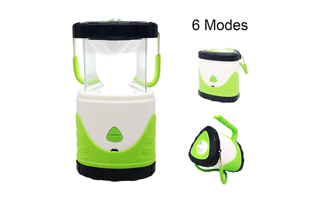 WSHSTS LED Camping Lantern Battery