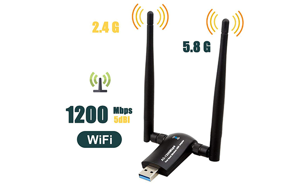 QGOO Wi-Fi Adapter, AC1200 Dual Band