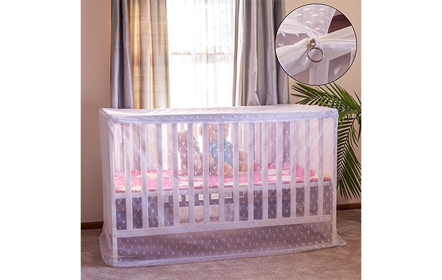 Artistic Baby Mosquito Net for Crib by Pacific