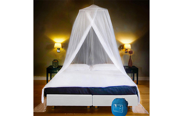 EVEN NATURALS Luxury Bed Canopy