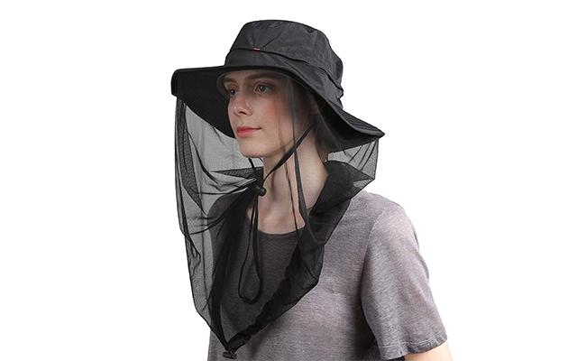 Flammi Mosquito Head Net Hat