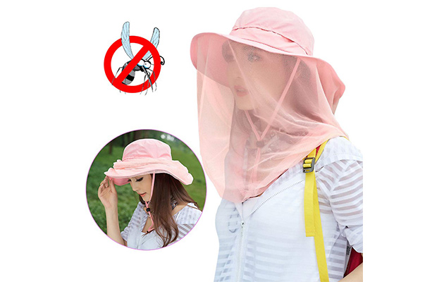 Jackcell Mosquito Head Net Hat