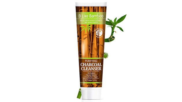 B Like Bamboo Purifying Charcoal Facial Cleanser with Lactic Acid