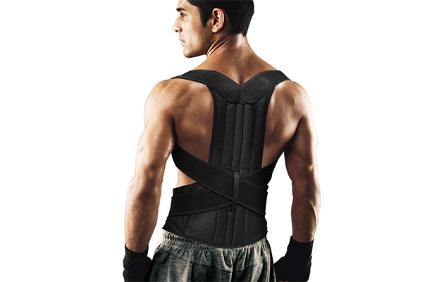 AIYUE Back Brace Posture Corrector Keep Spine Safe for Women and Men