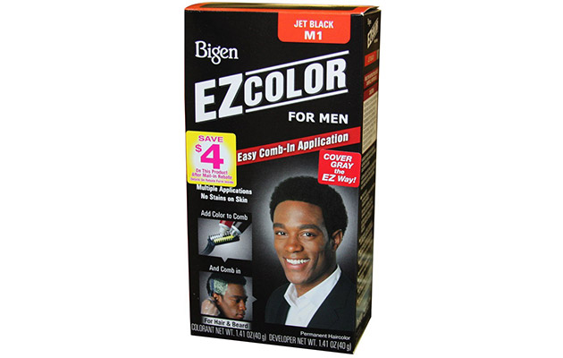 Bigen EZ Color Hair Color for Men - Jet Black Kit