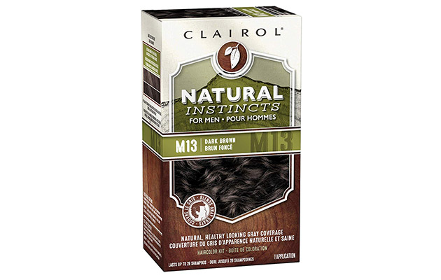 Clairol Natural Instincts Semi-Permanent Hair Color Kit For Men