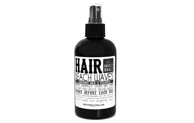 Gnarly Whale Coconut Milk & Peaches Beach Waves Sea Salt Spray 8oz
