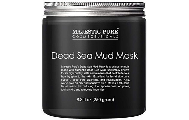 Majestic Pure Dead Sea Mud Mask for Face and Body