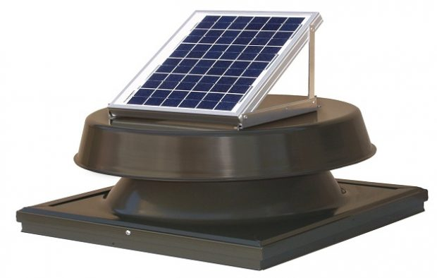 Natural Light Solar Attic Fan
