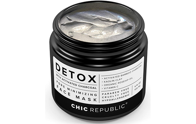 CHIC REPUBLIC Detox With Activated Charcoal Face Mask