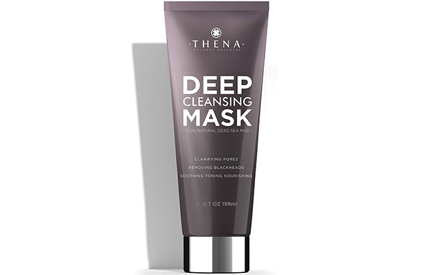 Thena Deep Cleansing Mask With Pure Healing Dead Sea Mud For Men