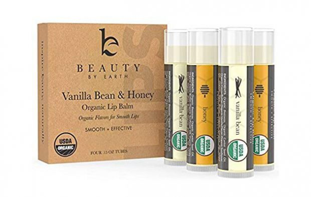 Organic Lip Balm Honey Vanilla