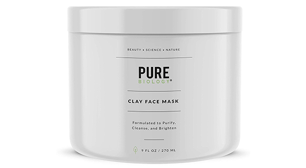 Pure Biology's Premium Clay Face Mask