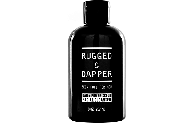 RUGGED & DAPPER Daily Face Wash and Scrub Cleanser for Men