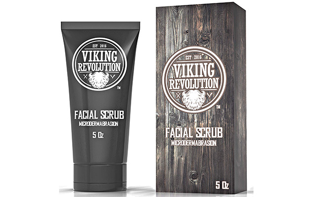 Viking Revolution Microdermabrasion Face Scrub for Men