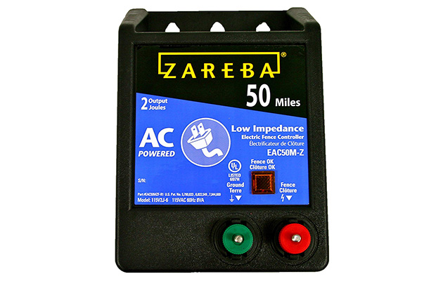 Zareba EAC50M Solar Electric Fence Charger