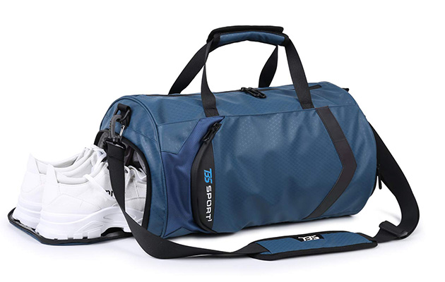 HUANGHENG Fitness Sports Gym Bag with Shoes Compartment