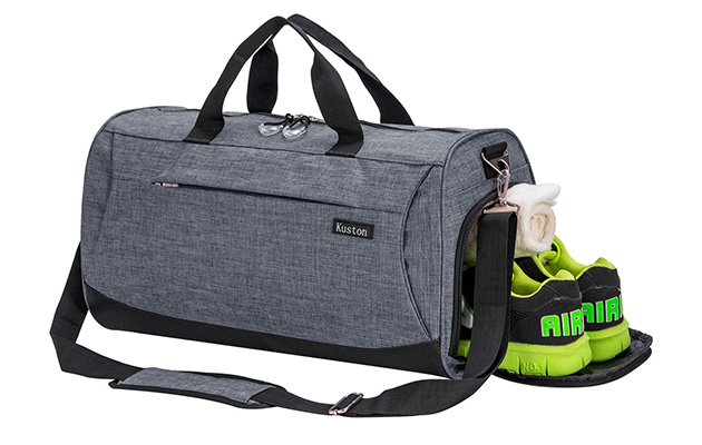Kuston Sports Gym Bag with Shoes