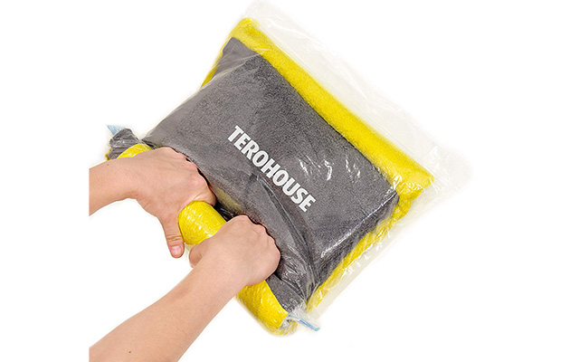 TeroHouse Travel Storage Bags For Clothes Space Saver Packing Sacks