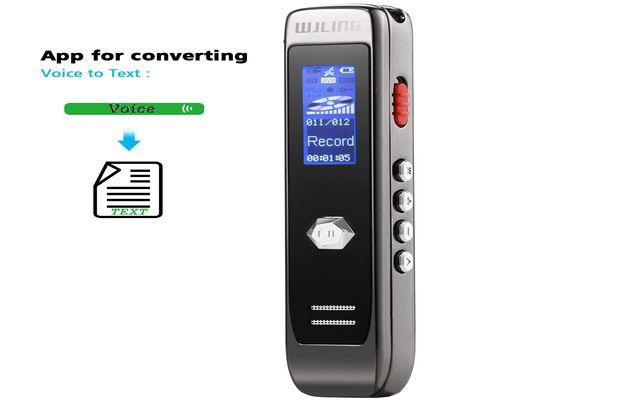 WJLING Digital Voice Sound Recorder