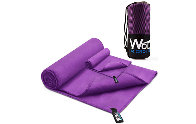 Wolfyok Microfiber Travel Sports Towel