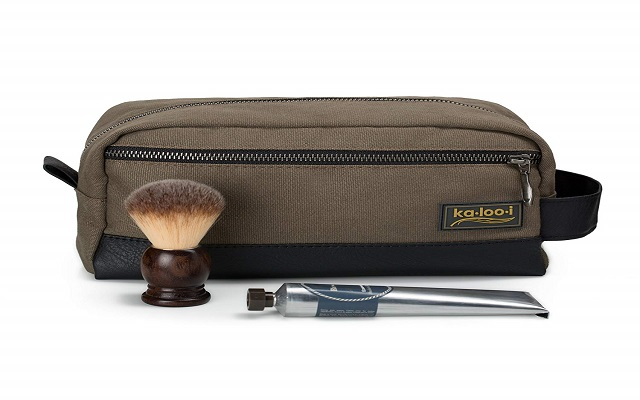 Kalooi Toiletry Bag for Men - Canvas Dopp Kit for Travel