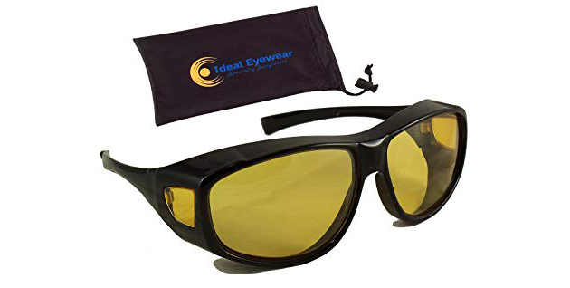 Ideal Eyewear Night Driving Wear Over Glasses