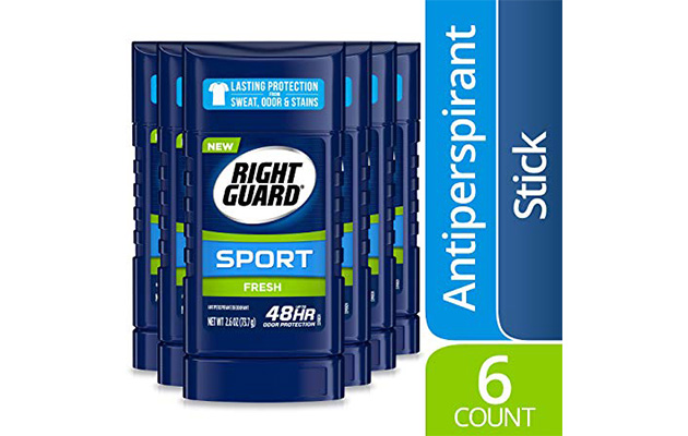 Right Guard Sport Antiperspirant Deodorant Invisible Solid Stick