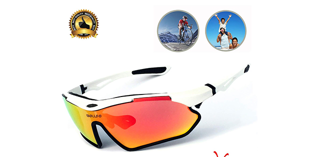 BOLLFO Polarized Sports Cycling Sunglasses