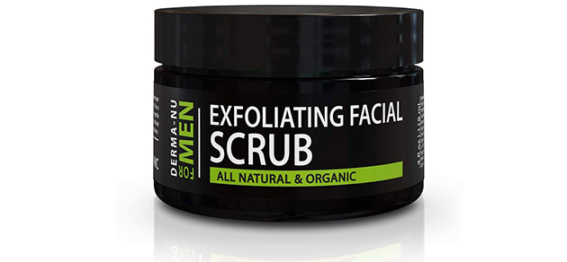 Exfoliating Mens Natural Face Scrub