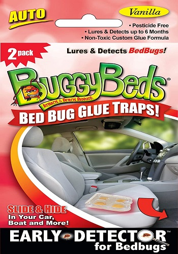 BuggyBeds Bed Bug Glue Traps, Early Detection