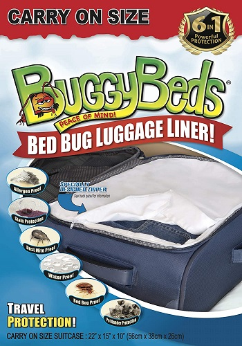 BuggyBeds Insect Barrier For Bed Bugs