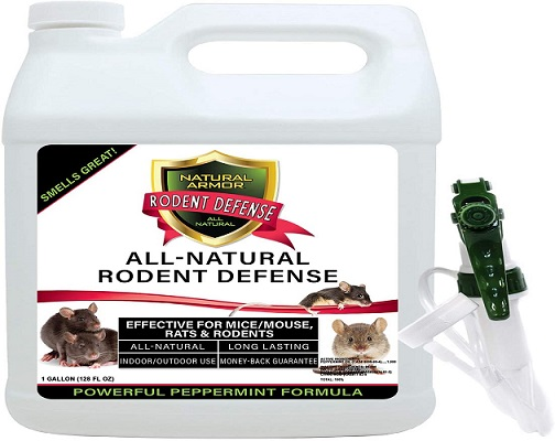 Natural Armor Peppermint Repellent for Mice