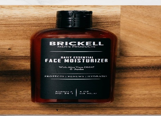 Brickell Men's Daily Essential Face Moisturizer for Men