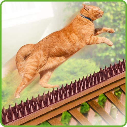DE-BIRD Defender Spikes, Cat and Bird Deterrent