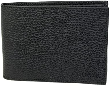 Gucci Men's Black Leather Bi-fold Wallet