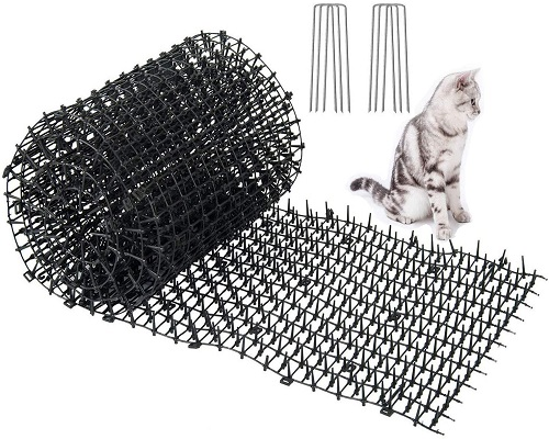 LANBOBO 6.5FT Cat Scat Mat with Spikes Anti-Cats