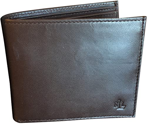 LAUREN Ralph Lauren Mens Burnished Billfold