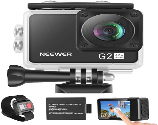 Neewer G2 4K WiFi Sports Action Camera