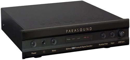 Parasound Zphono MM and MC Phono Preamplifier with USB